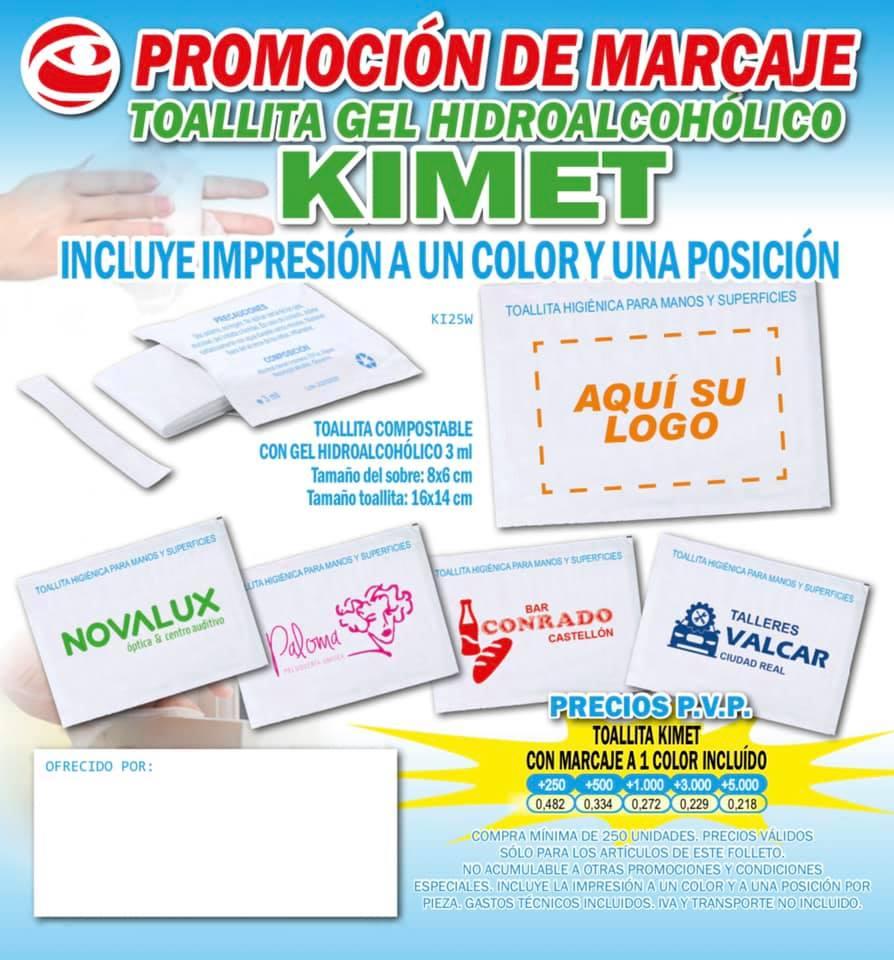 promocion de marcaje kimet